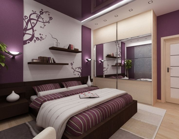 Фиолетовый цвет в интерьере. 50 различных вариантов - Сундук идей для вашего дома - интерьеры, дома, дизайнерские вещи для дома