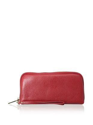 66% OFF Zenith Women's Wallet Wristlet, Red