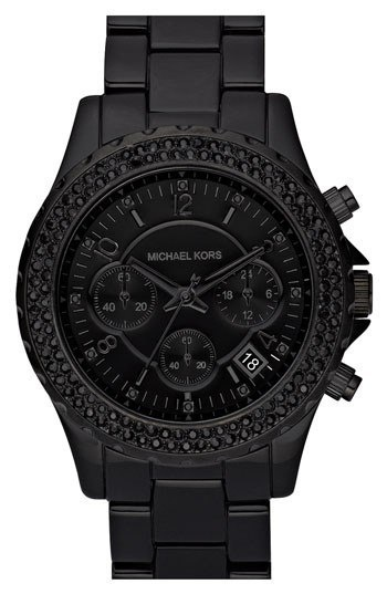 17 best images about watch the time rose gold michael kors black matte watch