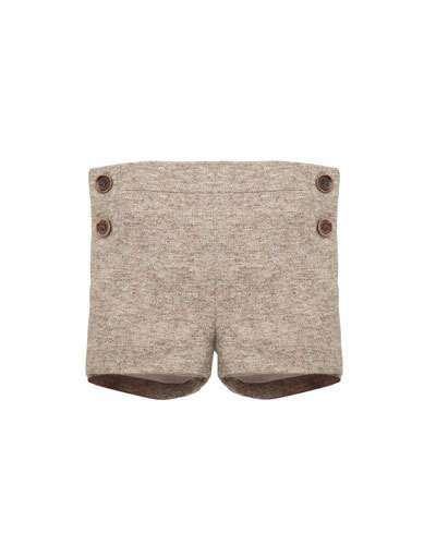Pili Carrera Boys' Tweed Shorts, Size 12M-3T