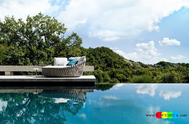 Furniture:Decorating Tosca Outdoor Furniture Table Sofa Daybed White Blue Cushions Chairs Tosca Outdoor Furniture For Outside Backyard Swimming Pools Tosca Collection Ideas Ergonomic And Aesthetic Form Of The Tosca Daybed Timeless And Trendsetting Tosca Outdoor Furniture Collection Unravels A World Of Luxury for Outside Swimming Pools
