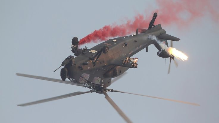 Chinese WZ-10 Attack Helicopter