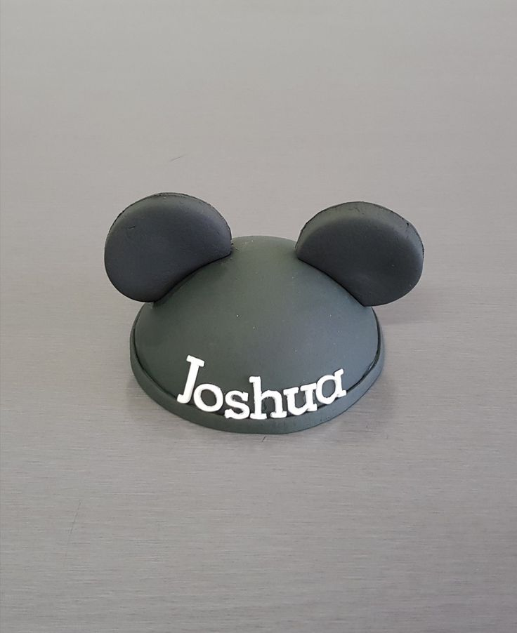 Mickey Mouse Cake Topper!