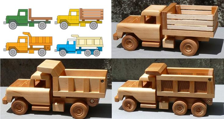 Toy Car Plans : Wood model truck plans woodworking projects