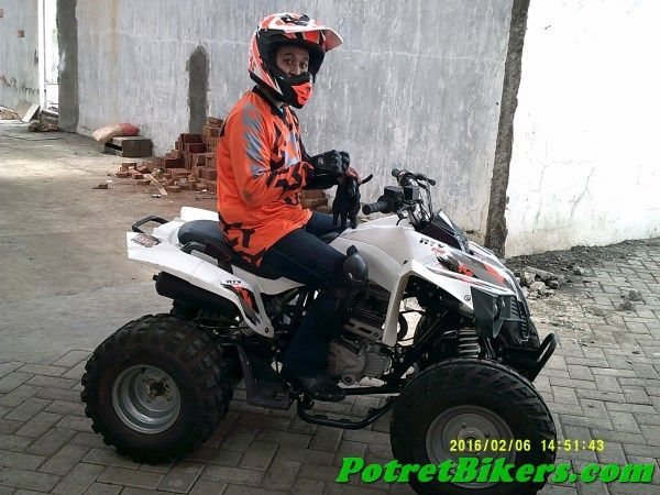 Test Ride ATV 250 cc Product GazGas, ngeri-ngeri sedap euy..!!