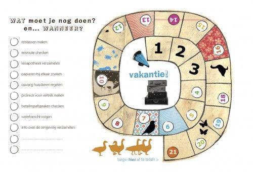 Aftel-doe-kalender. Klasse voor ouders i.s.m. www.vakantieparticipatie.be