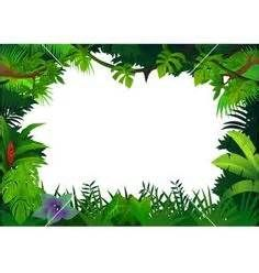 Free Clip Art Jungle Borders Vectorstock Royalty Jackie