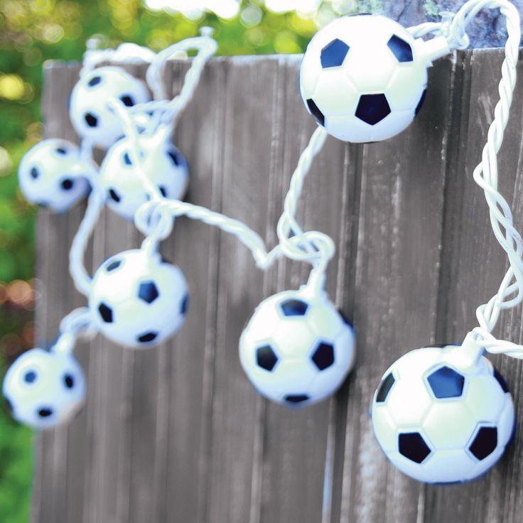 Dennis East International Soccer String Lights - 70211WEB