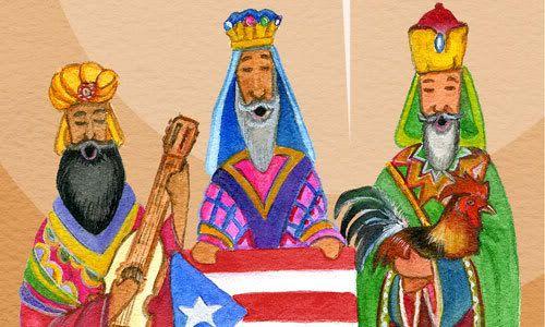 Las personas que viven en Puerto Rico celebre pero tienen algo más importante que celebrar. Celebran el día tres reyes, que es una tradición donde el 6 de enero, donde los niños se reúnen hierba y colocarlo en una caja al pie de su cama para que los camellos de los tres reyes tendrán algo para comer cuando vienen a visitar.