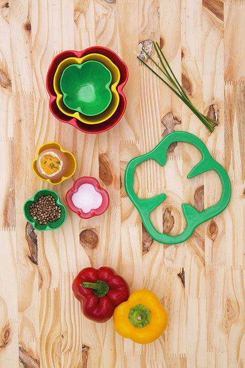 Easter gifts: 10 designer ideas, Kitchen Garden bowls, Zak!designs, 2016