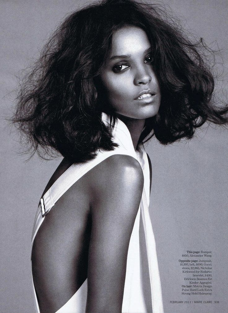 Liya Kebede by David Roemer for Marie Claire US February 2011 | Fashion Gone Rogue: The Latest in Editorials and Campaigns