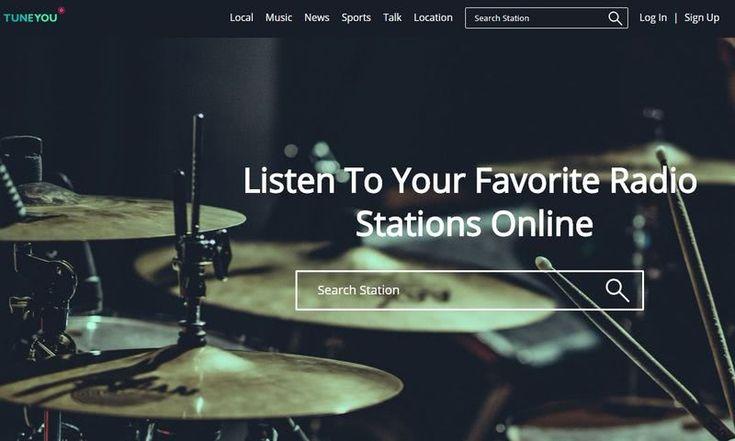 TuneYou es una página que reúnes miles de emisoras de radio de todo el mundo y de todo tipo de géneros. Para escuchar online en el navegador de nuestro PC o teléfono.