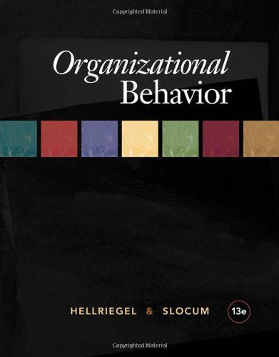I'm selling Organizational Behavior (13th Edition) by Don Hellriegel and John W. Slocum - $20.00 #onselz