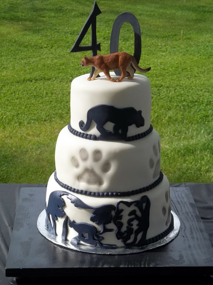 Coon Hunting Birthday Cake Ideas