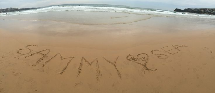#Manly beach @Sydney, NSW, Au