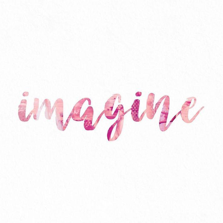 #imagine #typography #pretty