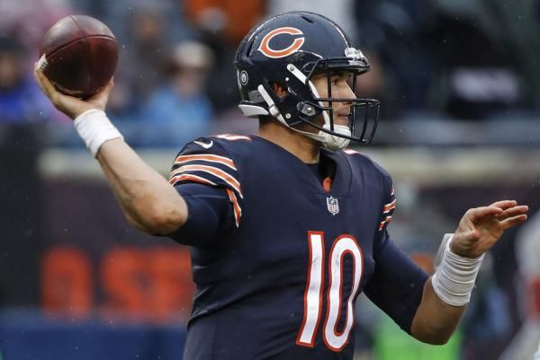 Chicago Bears quarterback Mitchell Trubisky put together his first strong passing game in last week's loss to the Green Bay Packers.