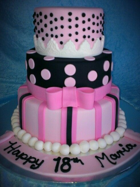 15 best images about 18th Birthday Cake Ideas on Pinterest