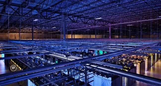 Data centre in Iowa