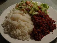 Surinaams eten!: Surinaamse corned beef met rijst