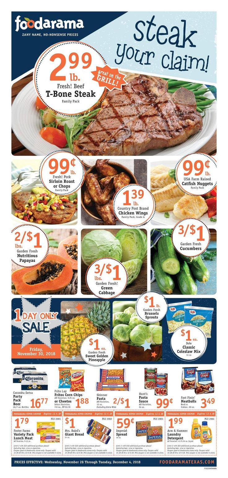 Foodarama weekly specials flyer january 16 22 2019