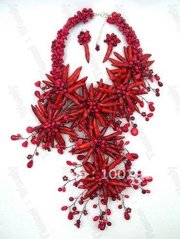 Купить товарБесплатная доставка! Elagent мода роскошный цветок коралловые украшения для европы африканский ну вечеринку свадьбу Braidal ювелирных изделий // гэри в категории Массивные ожерельяна AliExpress. 1-1.   Различия в цвете может быть вызвано цвет отражение в мониторе, освещения, фона и т. д 1-2.  Если вы обнаружите ка