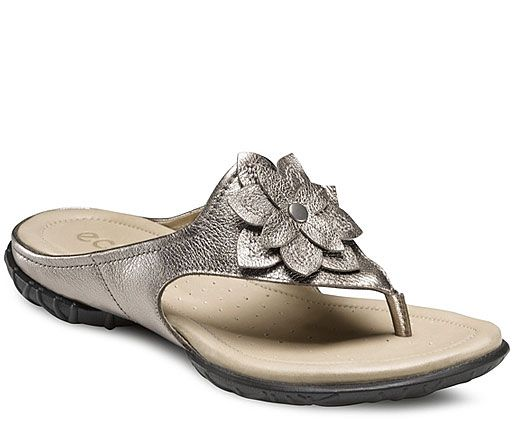ECCO Shoes: Groove Sandal Flower Thong