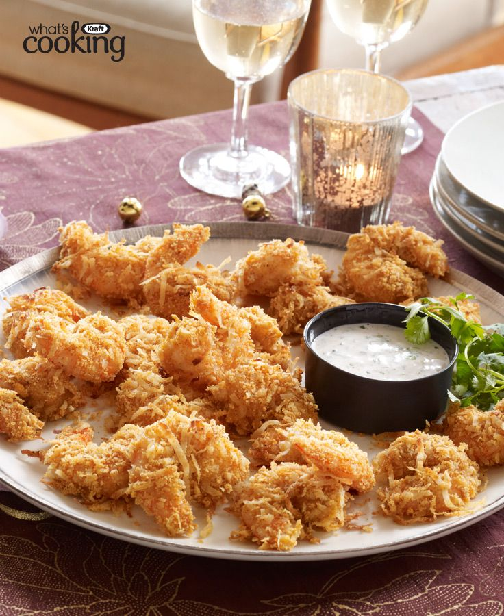 Crispy Coconut Shrimp #recipe