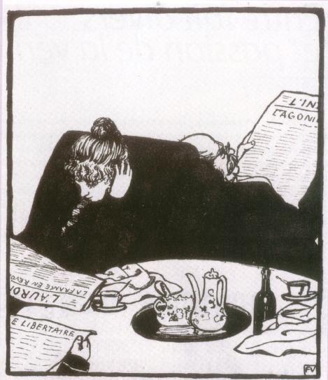 Felix Vallotton - En famille, 1899