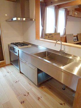 ステンレスキッチン 美しくてモダンなキッチン画像集&作ってくれる会社さん&キッチンメーカーまとめ - NAVER まとめ
