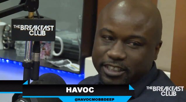 Video: Havoc Interview With The Breakfast Club Power 105.1- http://getmybuzzup.com/wp-content/uploads/2014/01/havoc-600x330.jpg- http://getmybuzzup.com/video-havoc-interview-breakfast-club-power-105-1/-  Havoc Interview With The Breakfast Club Power 105.1 Rapper Havoc of Mobb Deep stops by Power105.1′s The Breakfast Club. While there he talks about working on a new Mobb Deep album, admit to drunk Tweeting calling Prodigy gay, how his nude pic made to Twitter, selling hi