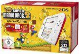 Nintendo 2DS - Konsole (weiß + rot) inkl. New Super Mario Bros. 2 (vorinstalliert)