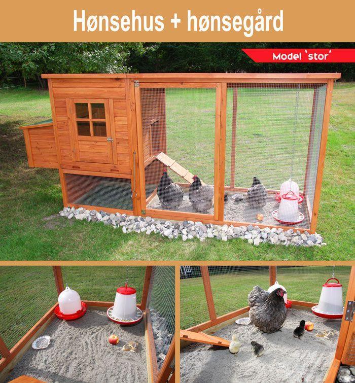 Hønsehus model 'Stor'