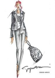 Rihanna by Armani: Fashion Models, Fashion Design, Fashion Art, Favorite Fashion, Fashion Illustrations, Fashion Drawings, Fashion Sketch