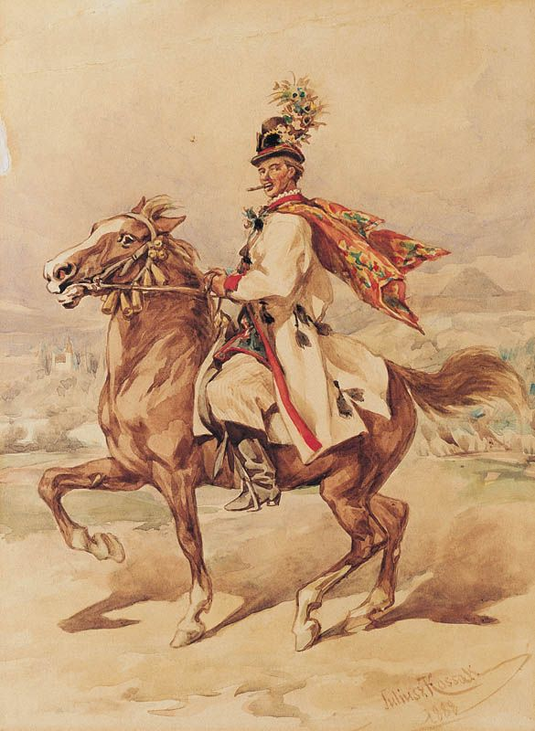 Drużba - Krakus na koniu