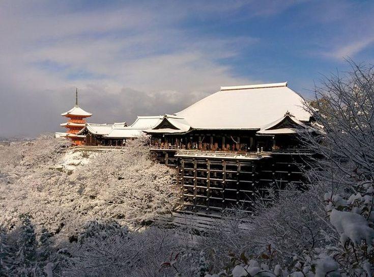 Η έντονη χιονόπτωση μετέτρεψε το Κιότο σε... παραμυθούπολη (εικόνες)   altsantiri.gr
