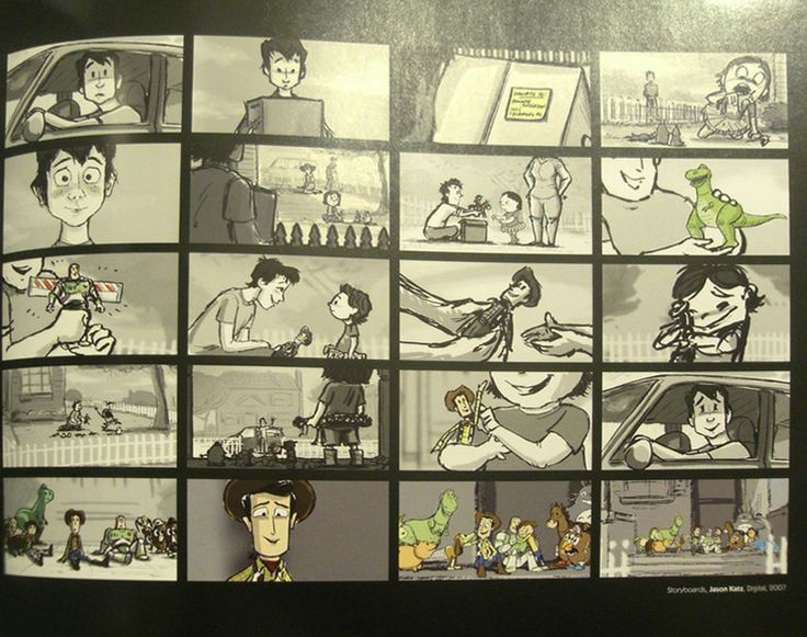 Living Lines Library: Toy Story 3 (2010) - Storyboards