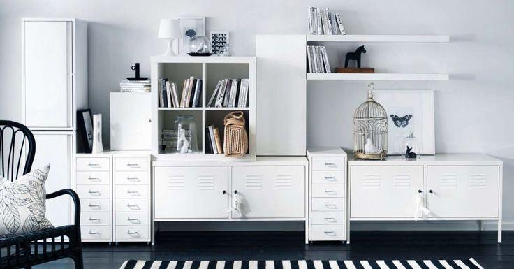A IKEA veio revolucionar a forma como mobilamos e decoramos as nossas casas, tal é a diversidade da oferta em termos de design, com particular destaque para a excelente relação qualidade-preço. Porém, o que é aparentemente uma vantagem, pode revelar-se uma desvantagem uma vez que muitas pessoas vão acabar por decorar as suas casas com as mesmas peças. Felizmente, os móveis IKEA são, em grande parte, telas brancas que podem facilmente ser transformados, ou seja, mais do que decorar com IKEA…