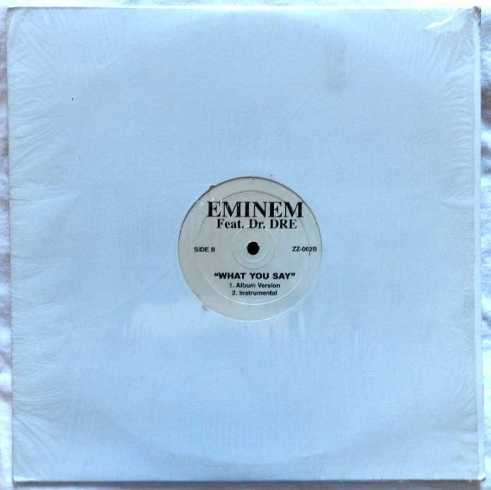 "Eminem Feat. Dr. Dre ""What you Say"" / Without Me"" 12"" Single ZZ-062A"