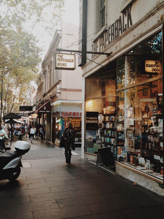 Bourke Street, Melbourne.  Natasha Calhoun