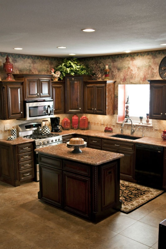 Best Custom Kitchen Beautiful Granite Beautiful Wood 400 x 300