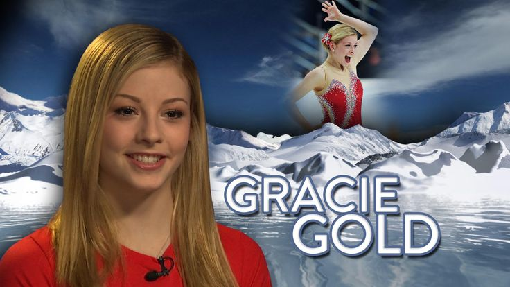 GRACIE GOLD -- We don't care what the judges think, baby, or even if you did fall on the ice once or twice. You're No. 1!!! GOLD MEDAL for cuteness and charm.    :-D
