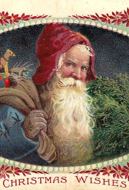 Vintage - Christmas Postcard