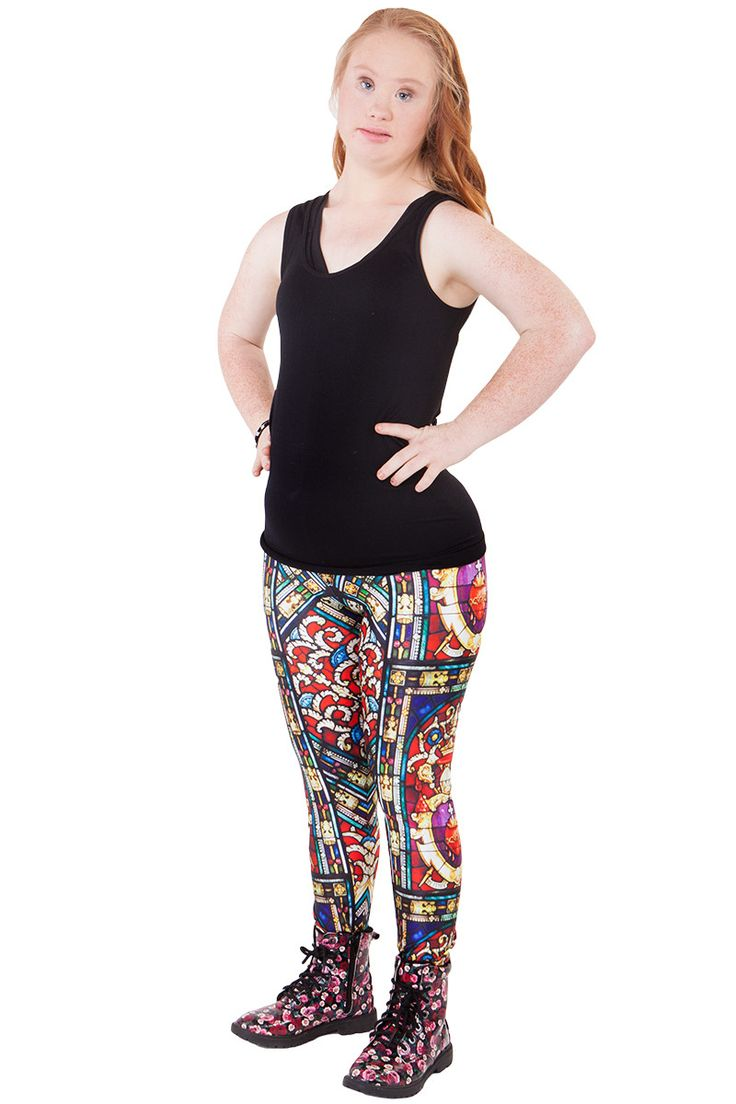 Stained Glass Leggings - $60.00 AUD