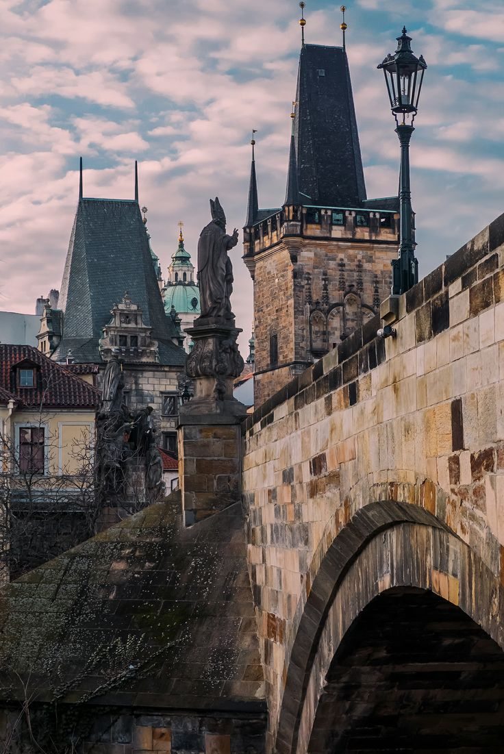 Praha v lednu