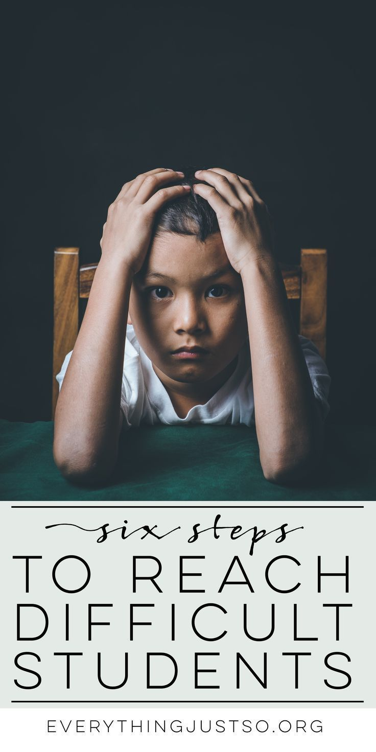Six steps to reaching your most difficult students | http://everythingjustso.org | Looking for ways to reach even the most difficult students? Here are six that worked in my classroom and two free resources that provide support.