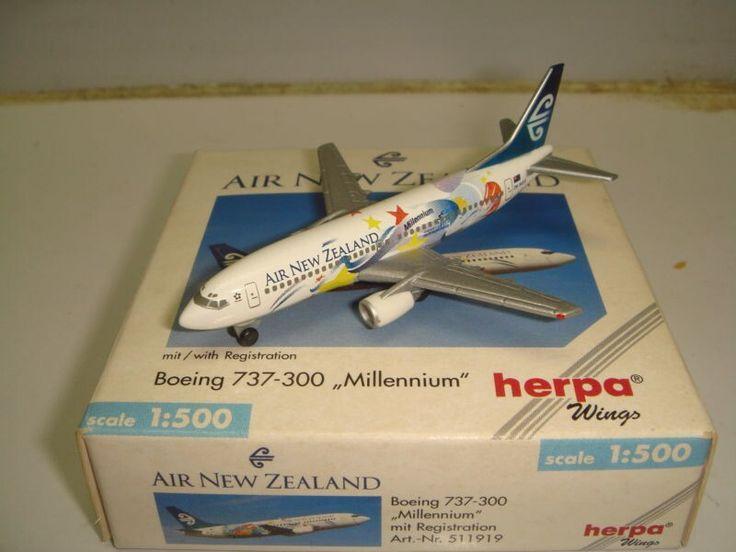 Air New Zealand Herpa 737-300 Millennium livery