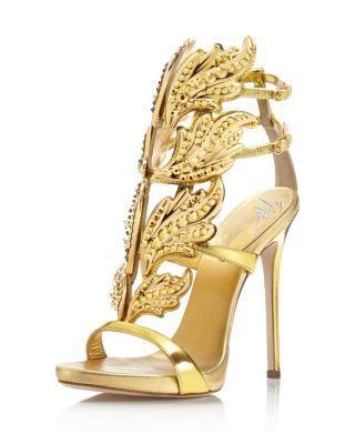 Giuseppe Zanotti Coline Cruel Embellished Wing High Heel Sandals   Bloomingdale's