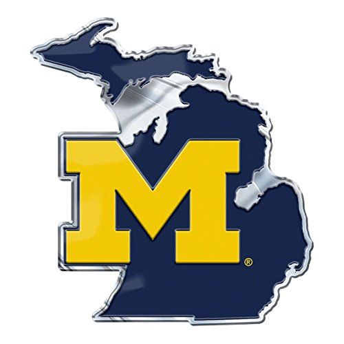 Just For Dad Michigan Wolverines On State Background Auto Emblem Sport Https Www Amazon Com Dp B07bbxctz4 Ref Cm Michigan Wolverines Wolverines Michigan