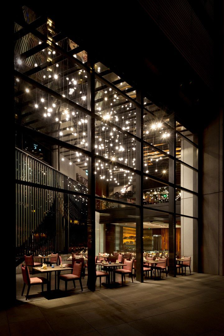 25 best ideas about restaurant lighting on pinterest for Restaurant with terrace